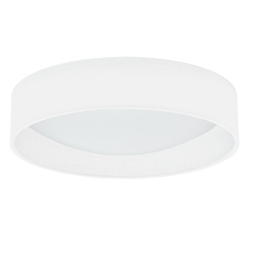 Dainolite Lighting  CFLD-1522-198F LED Flush Mount, Satin Chrome Finish, Eggshell Shade