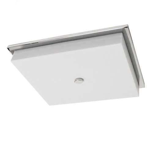 Dainolite Lighting  CFLED-1107-PC 28W LED Flush Mount Polished Chrome Finish with White Acrylic Diffuser