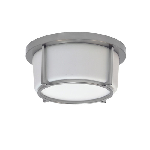 Dainolite Lighting  CFLED-B1011-SC LED Flush Mount, Satin Chrome Finish