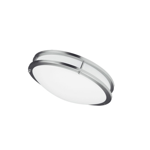 Dainolite Lighting  CFLED-C1218-SC Dimmable LED Ceiling Flush Mount, Satin Chrome Finish