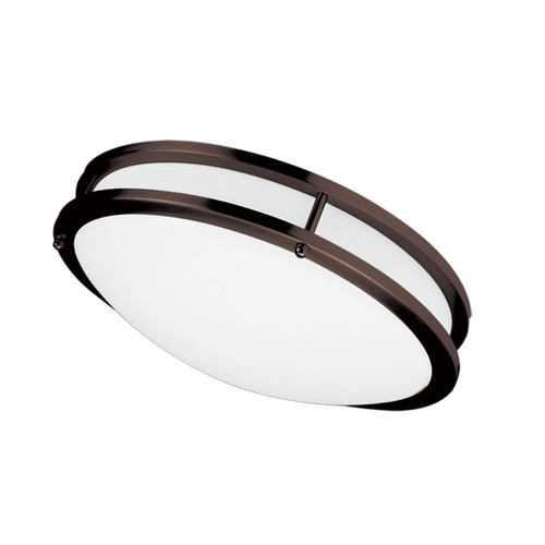 Dainolite Lighting  CFLED-C1626-BZ LED Ceiling Flush, 16? dia, Bronze Finish