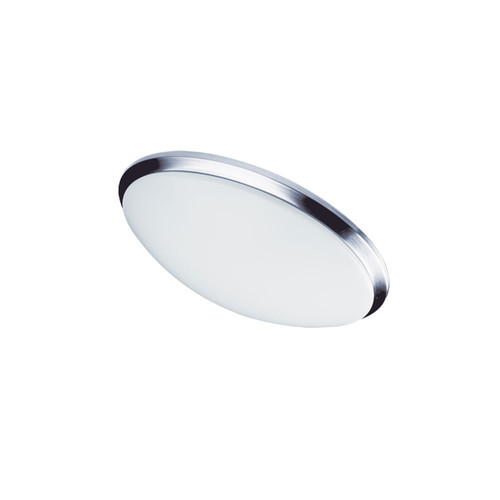 Dainolite Lighting  CFLED-L1114-PC LED Ceiling Flush, Polished Chrome Trim, 11? dia