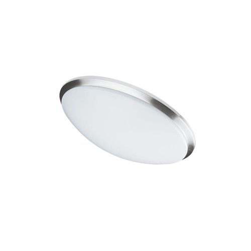 Dainolite Lighting  CFLED-L1114-SC LED Ceiling Flush, Satin Chrome Trim, 11? dia