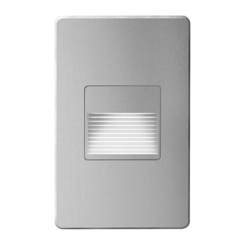 Dainolite Lighting  DLEDW-200-BA 120VAC input, L125mmxW78mmxH37mm, 2700K, 3.3W IP65,  Brushed Aluminum Wall LED Light