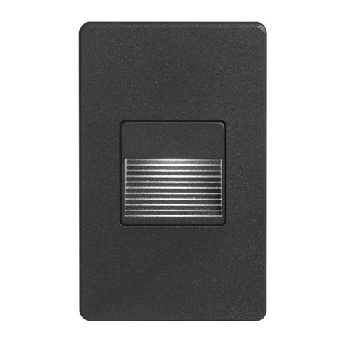 Dainolite Lighting  DLEDW-200-BK 120VAC input, L125mmxW78mmxH37mm, 2700K, 3.3W IP65, Black Wall LED Light