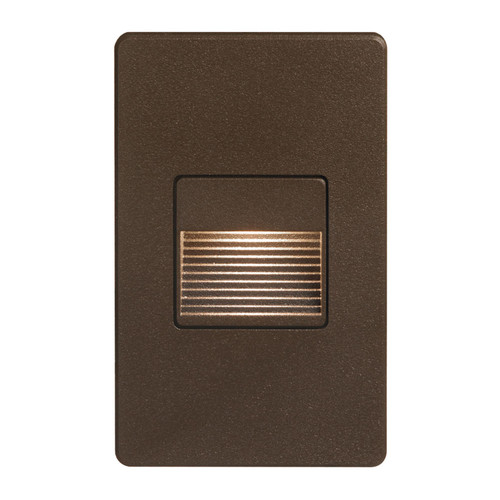 Dainolite Lighting  DLEDW-200-BZ 120VAC input, L125mmxW78mmxH37mm, 2700K, 3.3W IP65, Bronze Wall LED Light