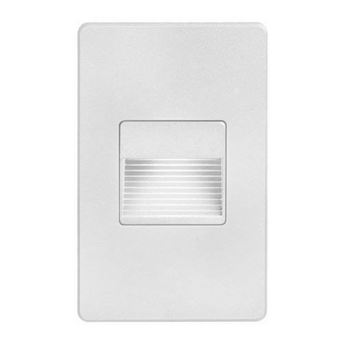 Dainolite Lighting  DLEDW-200-WH 120VAC input, L125mmxW78mmxH37mm, 2700K, 3.3W IP65, White Wall LED Light