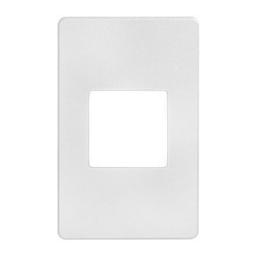 Dainolite Lighting  DLEDW-245-WH 120VAC input, L125mmxW78mmxH37mm, 2700K,3.3W IP65, White Wall LED Light with White Lens