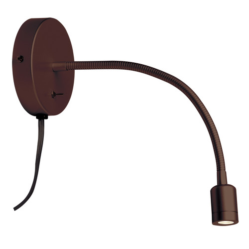 Dainolite Lighting  DLEDW-263-OBB LED Wall Lamp, Oil Brushed Bronze