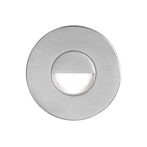 Dainolite Lighting  DLEDW-300-BA 120VAC input, Ø88xH82mm, 2700K, 3.3W IP65, Brushed Aluminum Wall LED Light.