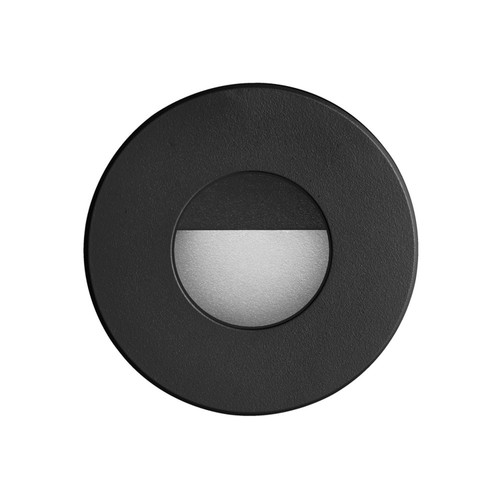 Dainolite Lighting  DLEDW-300-BK 120VAC input, Ø88xH82mm, 2700K, 3.3W IP65, Black Wall LED Light.