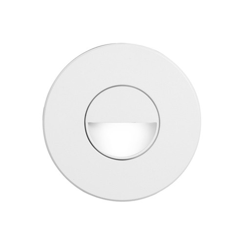Dainolite Lighting  DLEDW-300-WH 120VAC input, Ø88xH82mm, 2700K, 3.3W IP65, White Wall LED Light