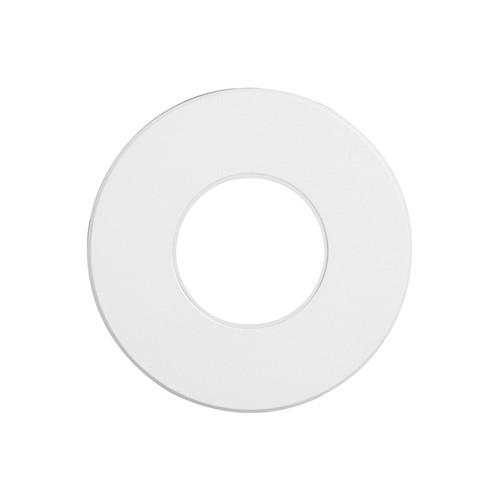 Dainolite Lighting  DLEDW-310-WH 120VAC input, Ø88xH82mm, 2700K, 3.3W IP65, White Wall LED Light with White Lens