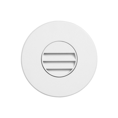 Dainolite Lighting  DLEDW-330-WH 120VAC input, Ø88xH82mm, 2700K, 3.3W IP65, White Wall LED with Louver