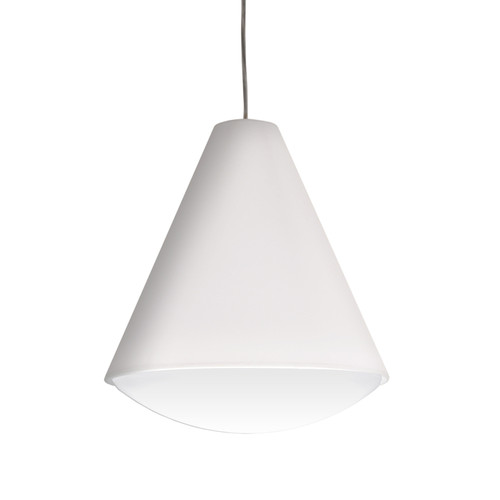 Dainolite Lighting  EMLED-13P-WH LED Pendant Empire Shade, Black