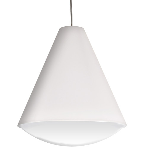 Dainolite Lighting  EMLED-17P-WH LED Pendant Empire Shade, White