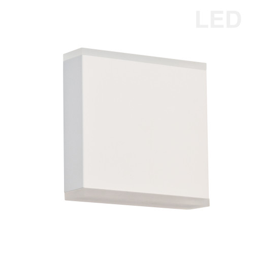 Dainolite Lighting  EMY-550-5W-MW 15W LED Wall Sconce, Matte White with Frosted Acrylic Diffuser