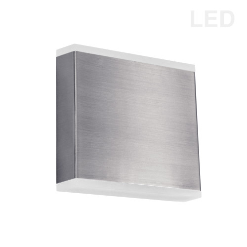Dainolite Lighting  EMY-550-5W-SC 15W LED Wall Sconce, Satin Chrome with Frosted Acrylic Diffuser