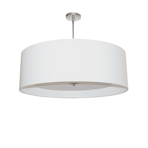 Dainolite Lighting  HEL-224P-PC-WH 4 Light Helena Pendant Polished Chrome White with White Diffuser