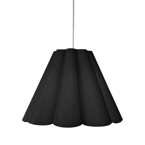 Dainolite Lighting  KEN-M-797 4 Light Kendra Pendant JTone Black, Medium Polished Chrome