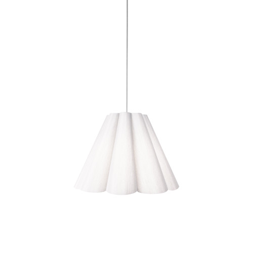 Dainolite Lighting  KEN-S-790 4 Light Kendra Pendant JTone White, Small Polished Chrome