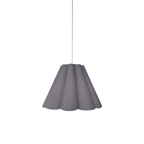 Dainolite Lighting  KEN-S-835 4 Light Kendra Pendant SGlow Grey, Small Polished Chrome