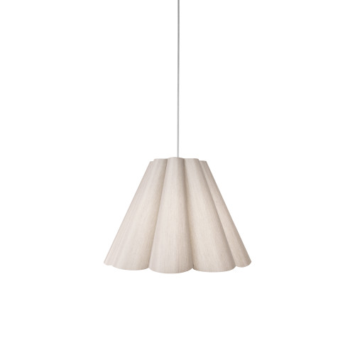 Dainolite Lighting  KEN-S-838 4 Light Kendra Pendant SGlow Latte , Small Polished Chrome