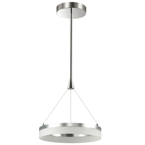 Dainolite Lighting  KEP-18P-PC 32 Watt LED Circular Pendant, Polished Chrome Finish