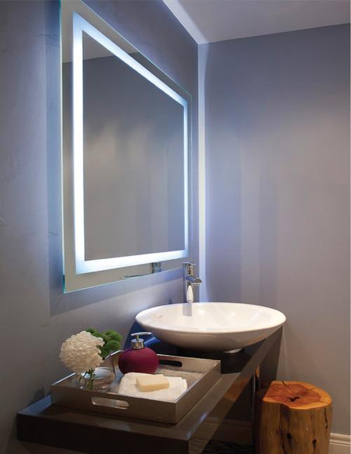 Dainolite Lighting  MLED-3224-IL Rectangular Inside Illuminated Mirror