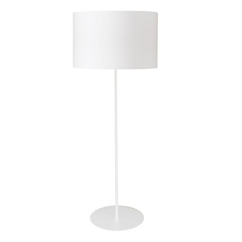 Dainolite Lighting  MM221F-WH-790 1LT Drum Floor Lamp w/ White Shade