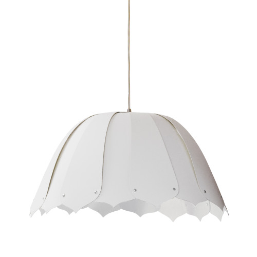 Dainolite Lighting  NOA121-S-790 1 Light Noa Pendant JTone White Small Polished Chrome