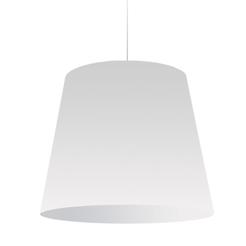 Dainolite Lighting  OD-L-790 1 Light Oversized Drum Pendant Large White Shade