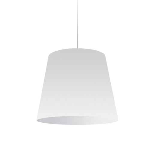 Dainolite Lighting  OD-M-790 1 Light Oversized Drum Pendant Medium Wht Shade
