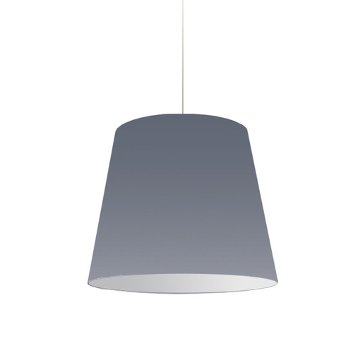 Dainolite Lighting  OD-M-835 1 Light Oversized Drum Pendant Medium Grey Shade