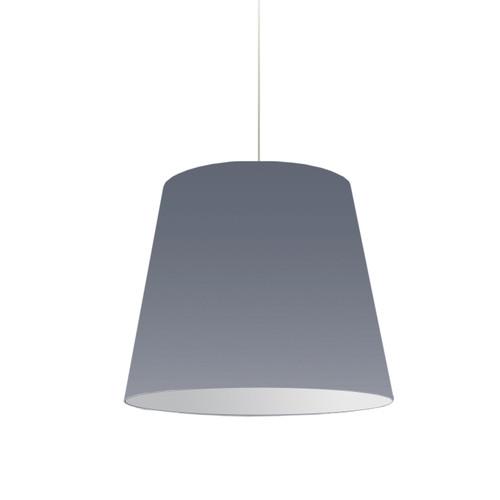 Dainolite Lighting  OD-M-835 1 Light Oversized Drum Pendant Medium Grey Shade
