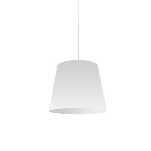 Dainolite Lighting  OD-S-790 1 Light Oversized Drum Pendant Small White Shade