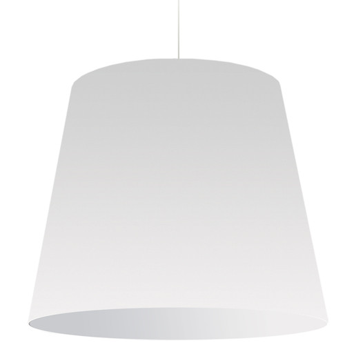 Dainolite Lighting  OD-XL-790 1 Light Oversized Drum Pendant X-Large White Shade