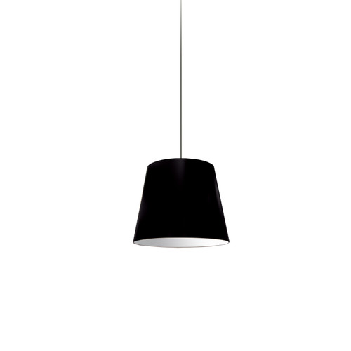 Dainolite Lighting  OD-XS-797 1 Light Oversized Drum Pendant X-Small Black Shade