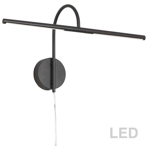 Dainolite Lighting  PICLED-242-MB 10W LED Picture Light Matte Black Finish