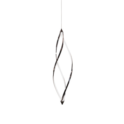 Dainolite Lighting  SEL-44P-PC 37 Watts LED Vertical Foyer with Swooped Arms, Polished Chrome Finish