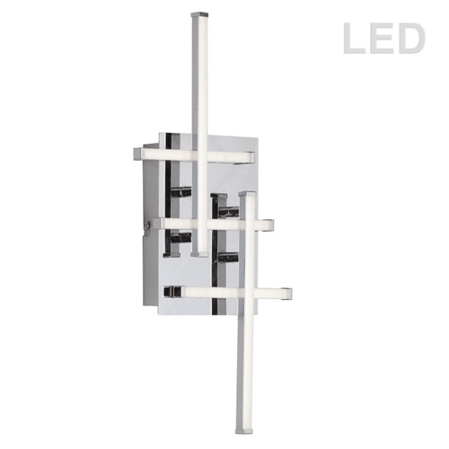 Dainolite Lighting  SUM-188W-PC 5 Light LED Wall Sconce, Polished Chrome Finish
