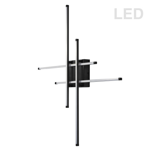 Dainolite Lighting  SUM-3223LEDFH-MB Ceiling Light in Matt Black Finish