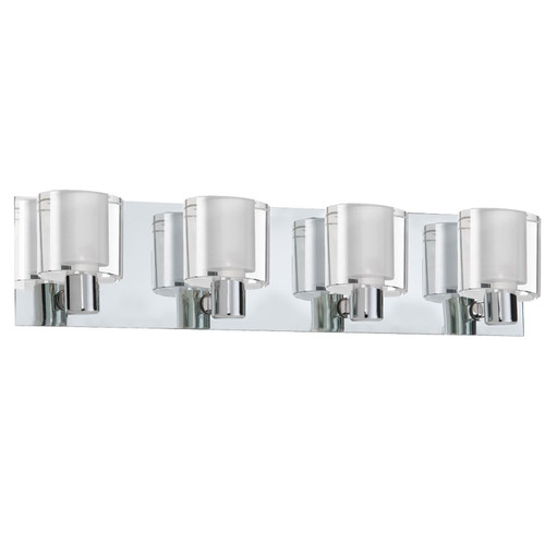 Dainolite Lighting  V89-4W-PC 4 Light Sconce, Polished Chrome