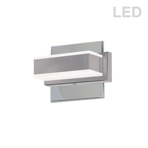 Dainolite Lighting  VLD-215-1W-PC 1 Light LED Wall Vanity, Polished Chrome Finish