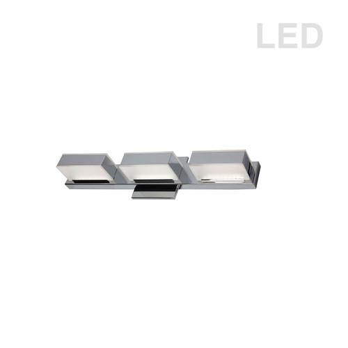 Dainolite Lighting  VLD-215-3W-PC 3 Light LED Wall Vanity, Polished Chrome Finish