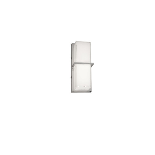 Dainolite Lighting  VLD-311-PC LED Wall Sconce Polished Chrome White Cased Glass
