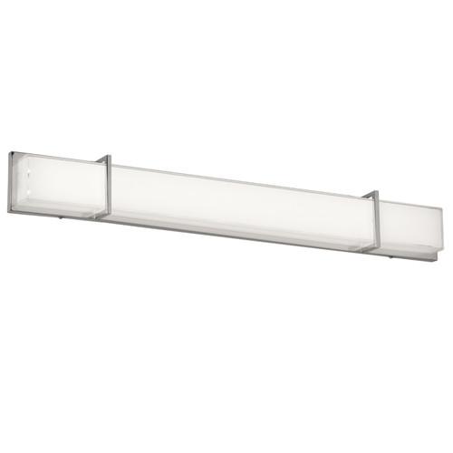 Dainolite Lighting  VLD-315-PC LED Vanity Fixture Polished Chrome White Cased Glass