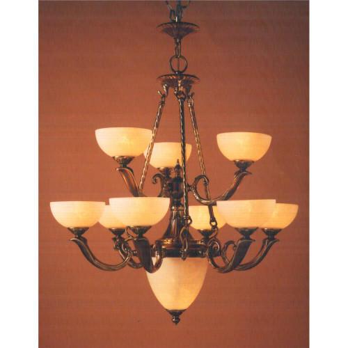 Classic Lighting 5666 ABZ Valencia Antique Bronze 9 bulb Chandelier