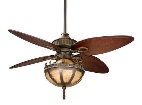 Fanimation LB230VZ-220 Bayhill Venetian Bronze Ceiling Fan with Dual Bowl (220V)