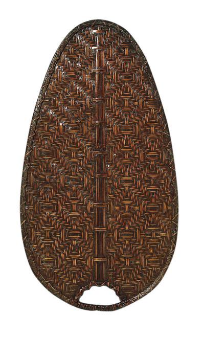"Fanimation CAISD4A 22"" Caruso Narrow Oval Blade in Antique Woven Bamboo (Set of 10)"